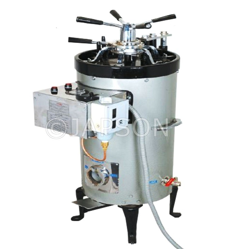 Autoclave, Triple Wall, Vertical, High Pressure, Radial Locking
