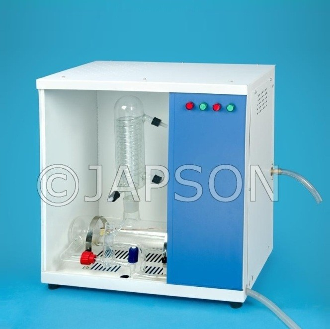 Automatic Water Distillation Equipment (Cabinet Model), Borosilicate Glass