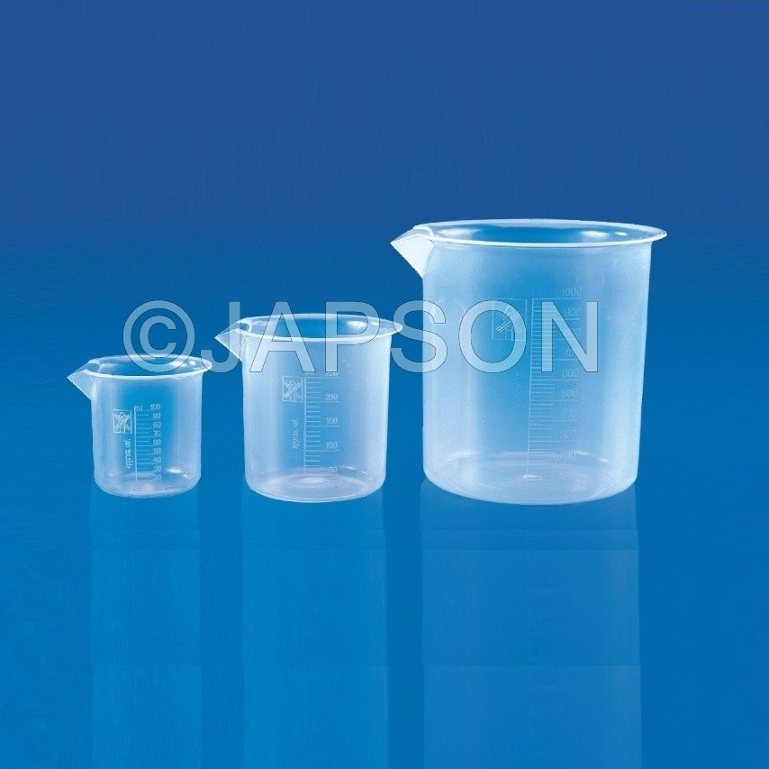 Beakers (Euro Design, PP)