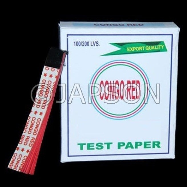 Congo Red Paper - Packs & Rolls