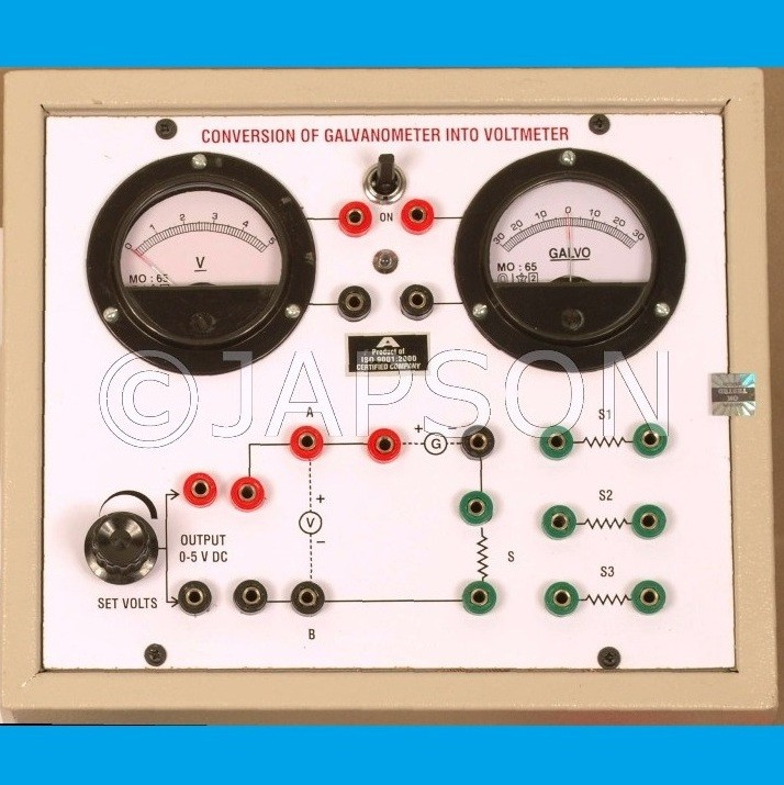 Conversion of Galvanometer into a Voltmeter