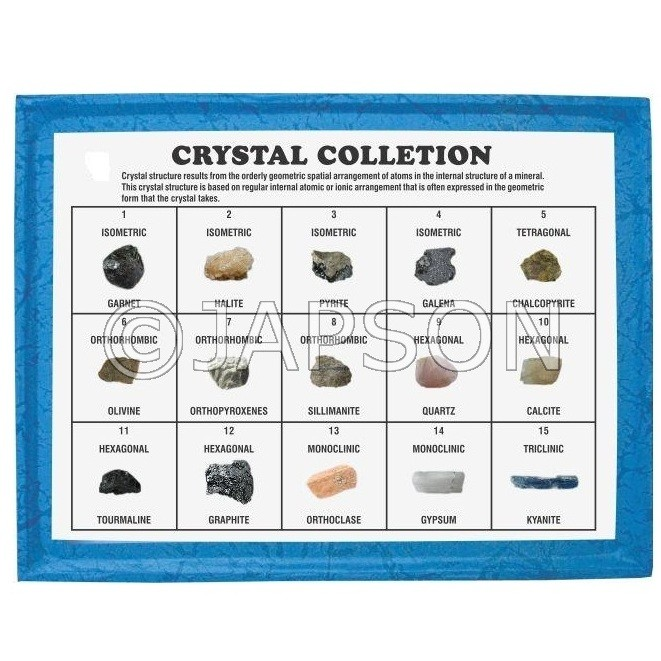 Crystal Collection, Set of 15