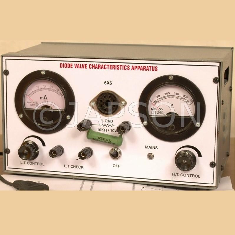 Diode Valve Characteristics Apparatus