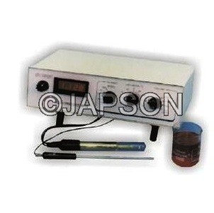 Dissolved Oxygen Meter, Digital, Table Model, Automatic Temperature Compensation