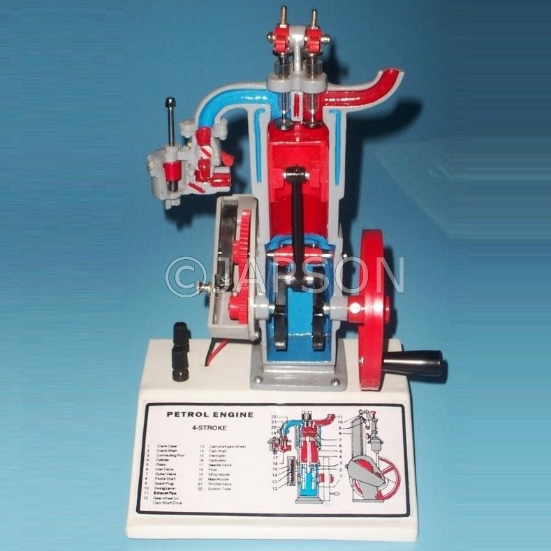 Engine Model, Petrol, 2/4 Stroke