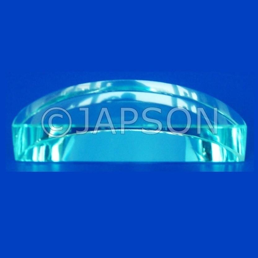 Glass Semi Circular Blocks