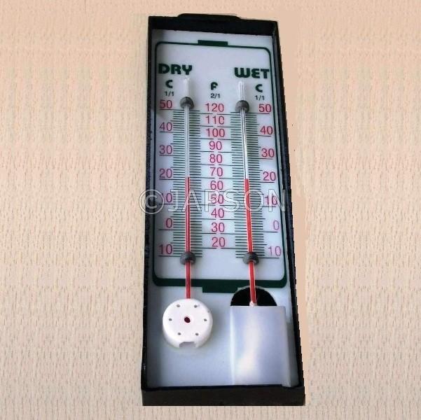 Hygrometer, Wet & Dry