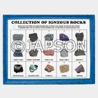 Igneous Rocks Set, Collection of 15 Igneous Rocks