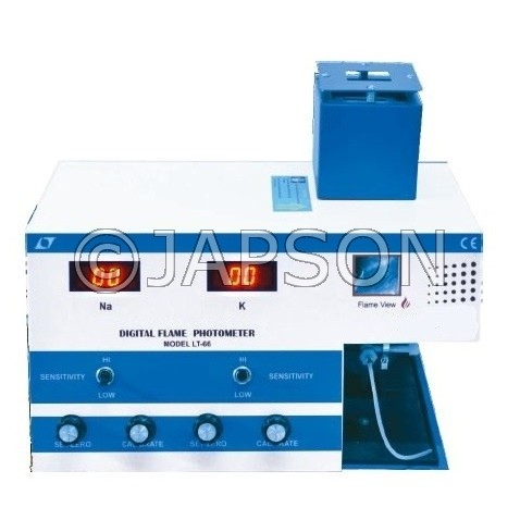 Digital Flame Photometer (Single Channel)
