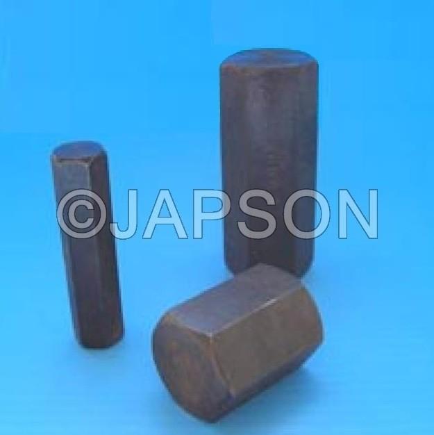 Masses (Weights), Hexagonal, Steel