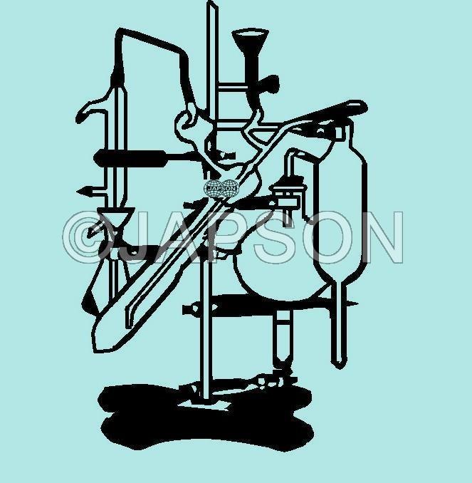 Micro Kjeldhal Nitrogen Distillation Apparatus