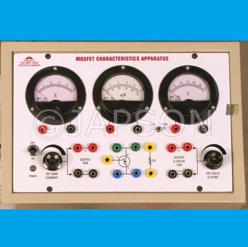 MOSFET Characteristics Apparatus Regulated Power Supplies