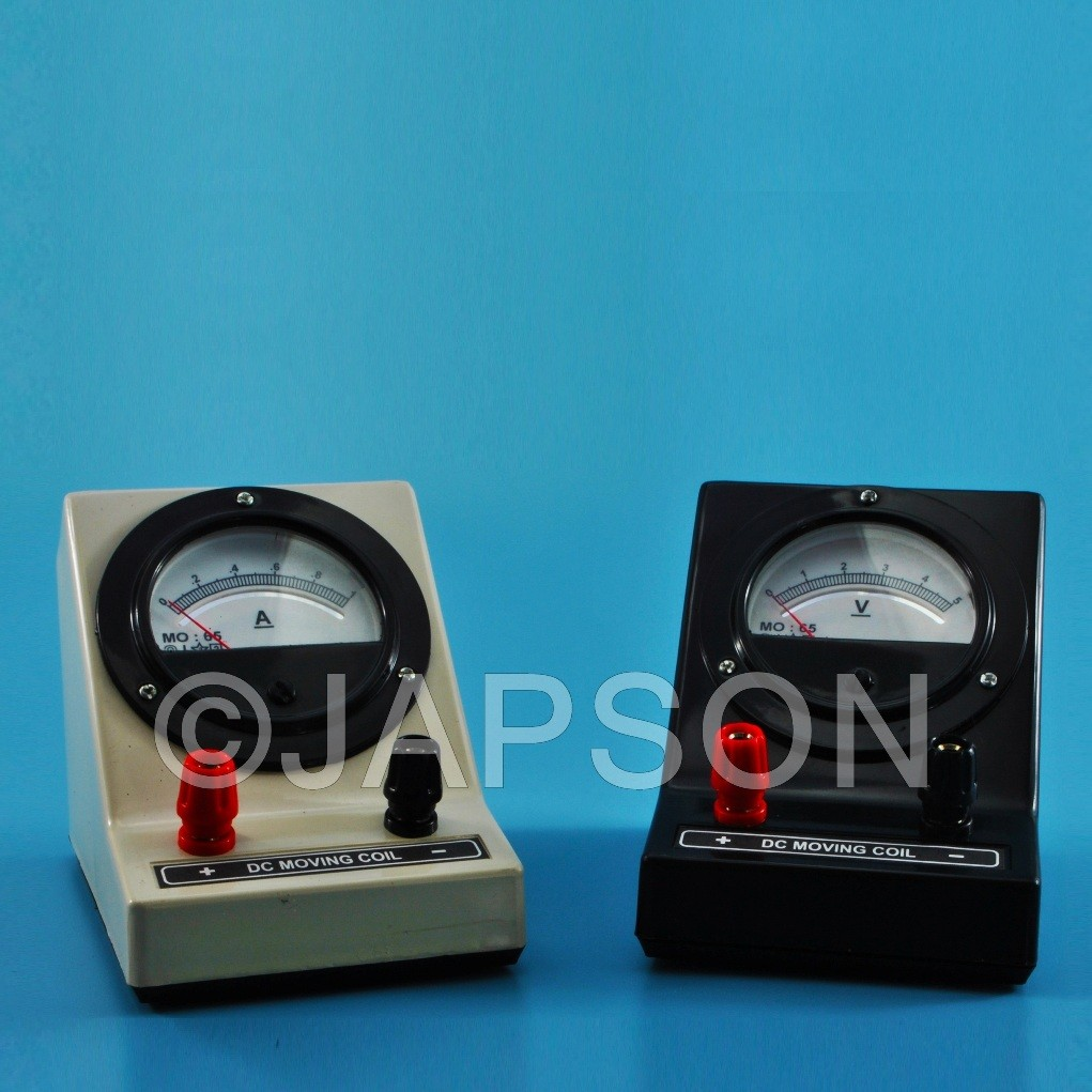 Moving Coil Meter, Round Dial, Front Terminal (Ammeters, Milli-Ammeters, Micro-Ammeters, Voltmeters and Galvanometer)