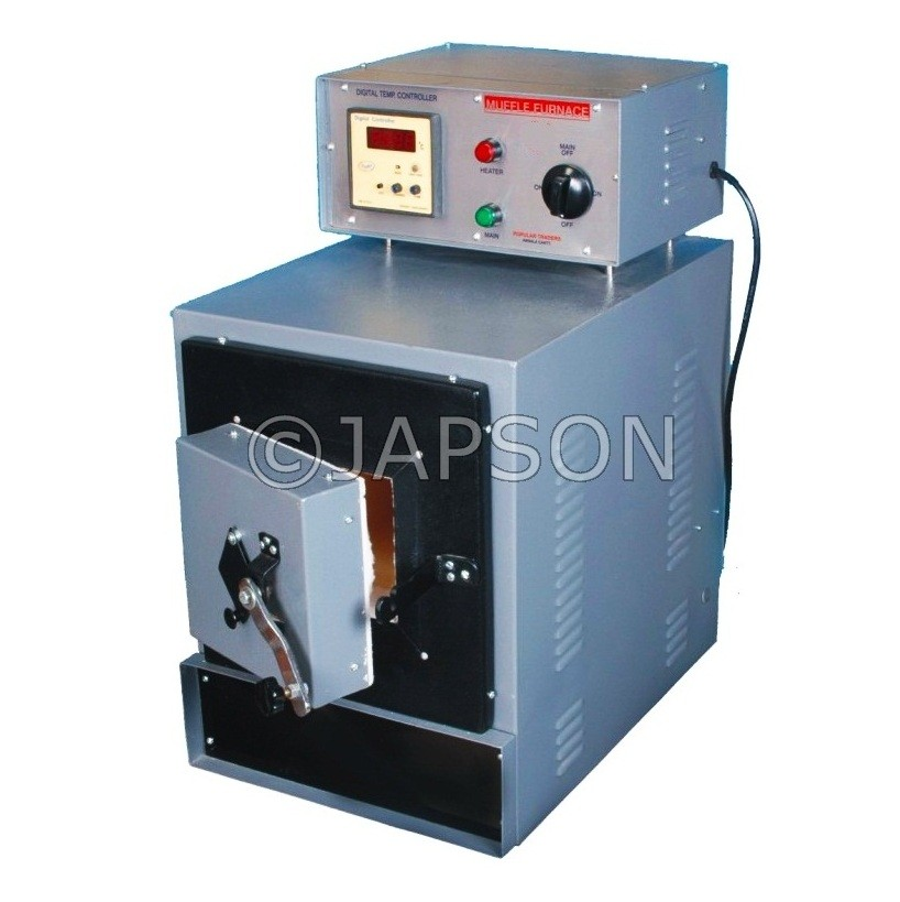 Muffle Furnace, Stainless Steel, PID Controller