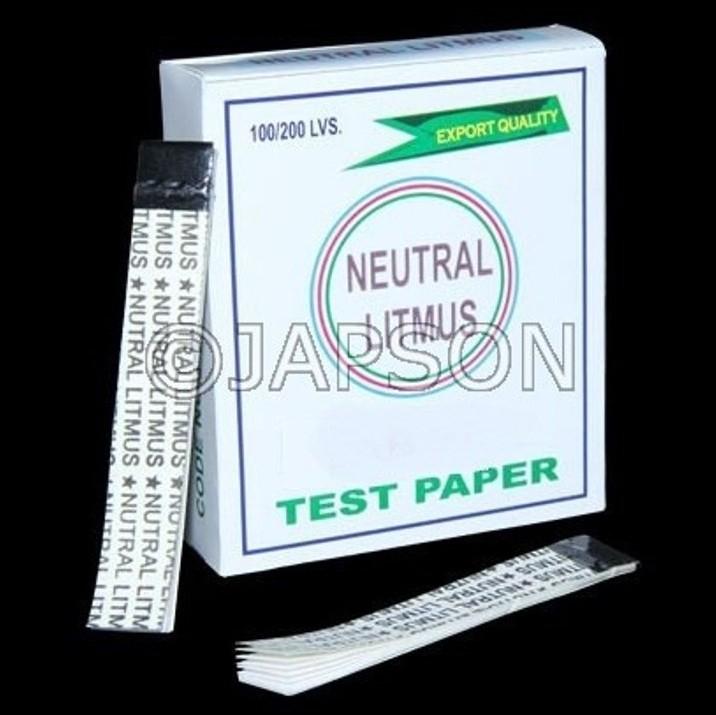Neutral Litmus Paper