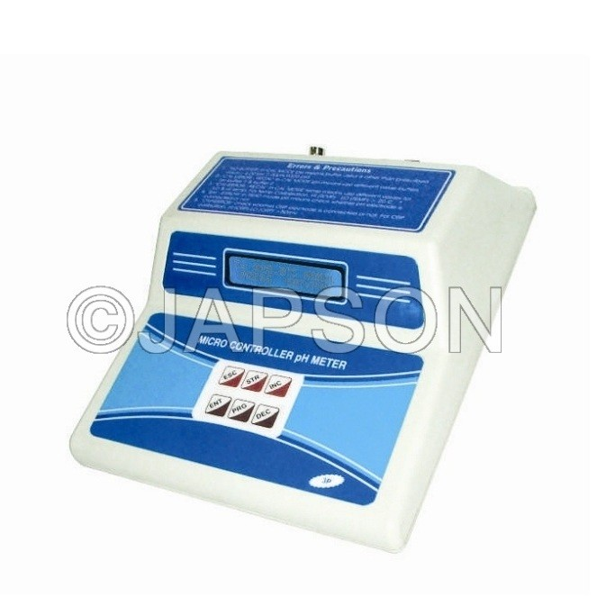 pH/Temperature & mV Meter, Microcontroller Based