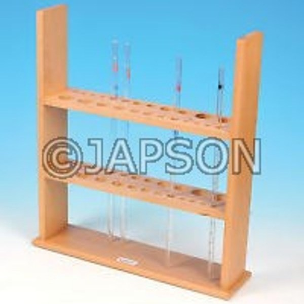 Pipette Stand, Vertical, Wooden