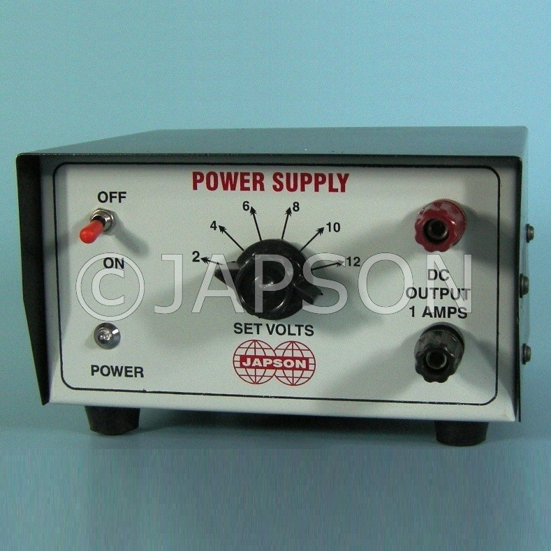Power Supply, DC, Battery Eliminator, 0-12 Volts