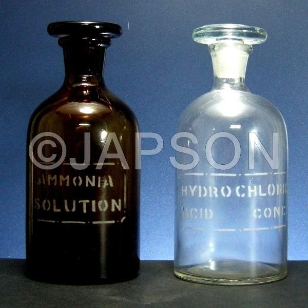 Reagent Bottle, Labelled