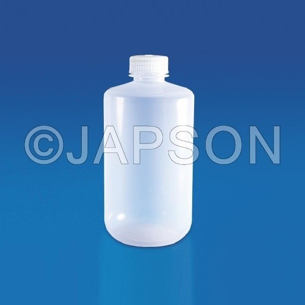 Reagent Bottle (Narrow Mouth), Plastic