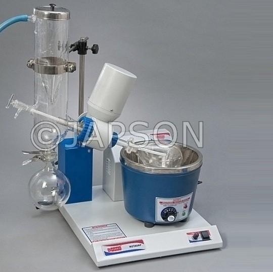 Rotary Vacuum Evaporator, Cold Trap Condenser, Thermostatic Temperature Control