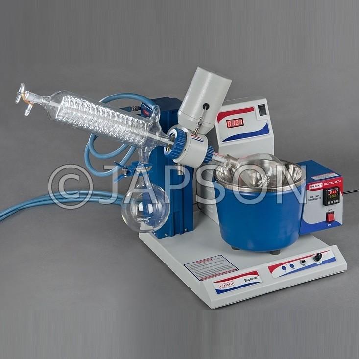 Rotary Vacuum Evaporator, Diagonal Condenser
