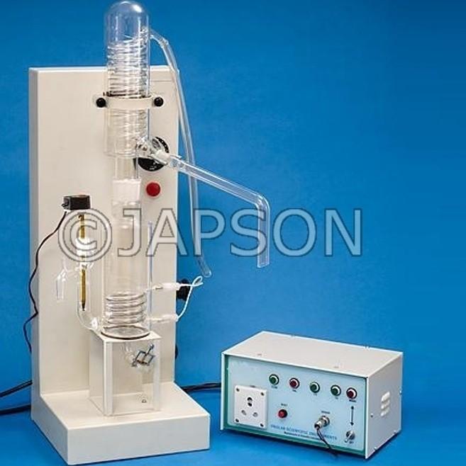 Single Stage Quartz Distillation Apparatus