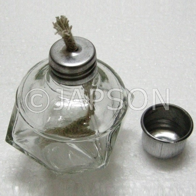 Spirit Lamps, Glass