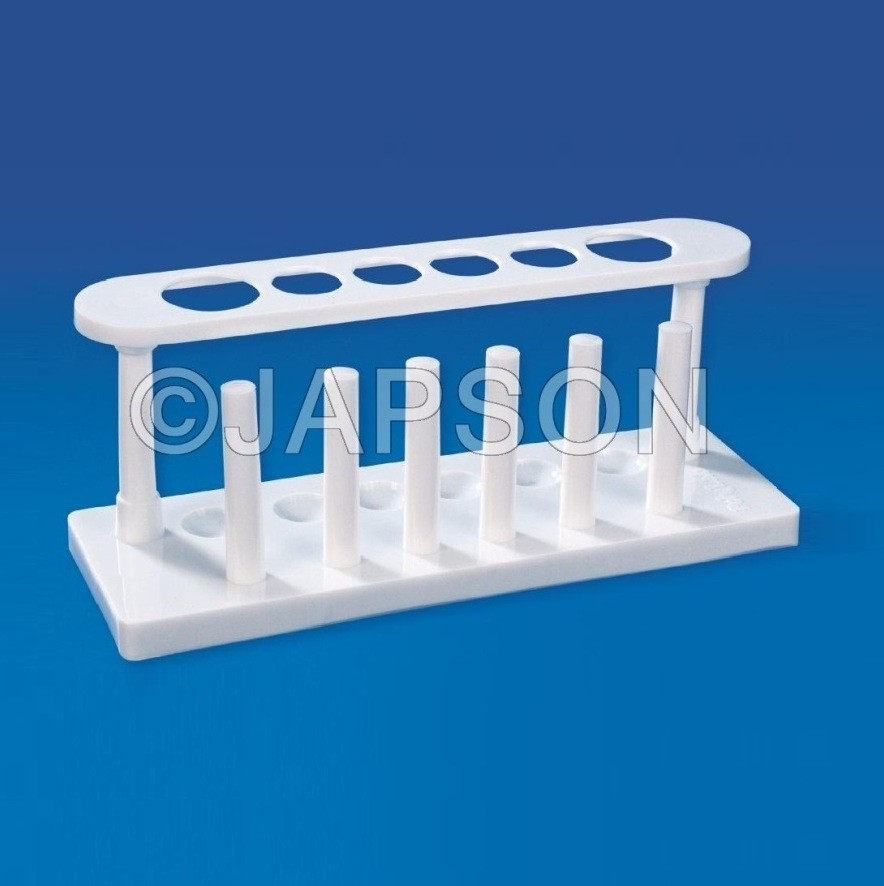 Test Tube Stand, Plastic
