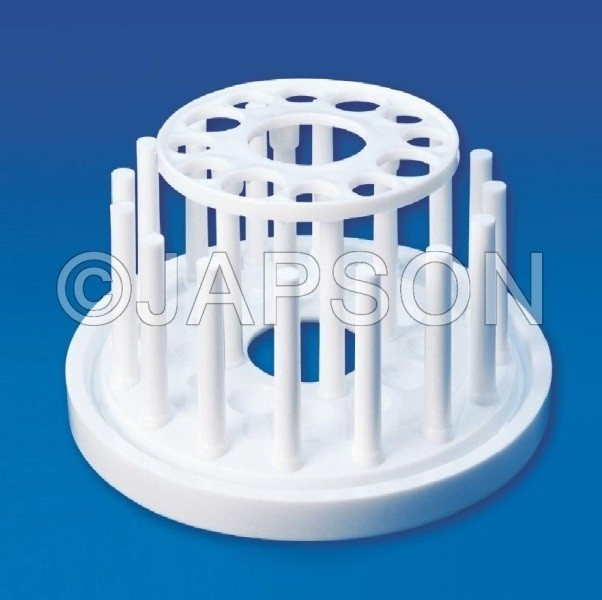 Test Tube Stand (Round), Plastic