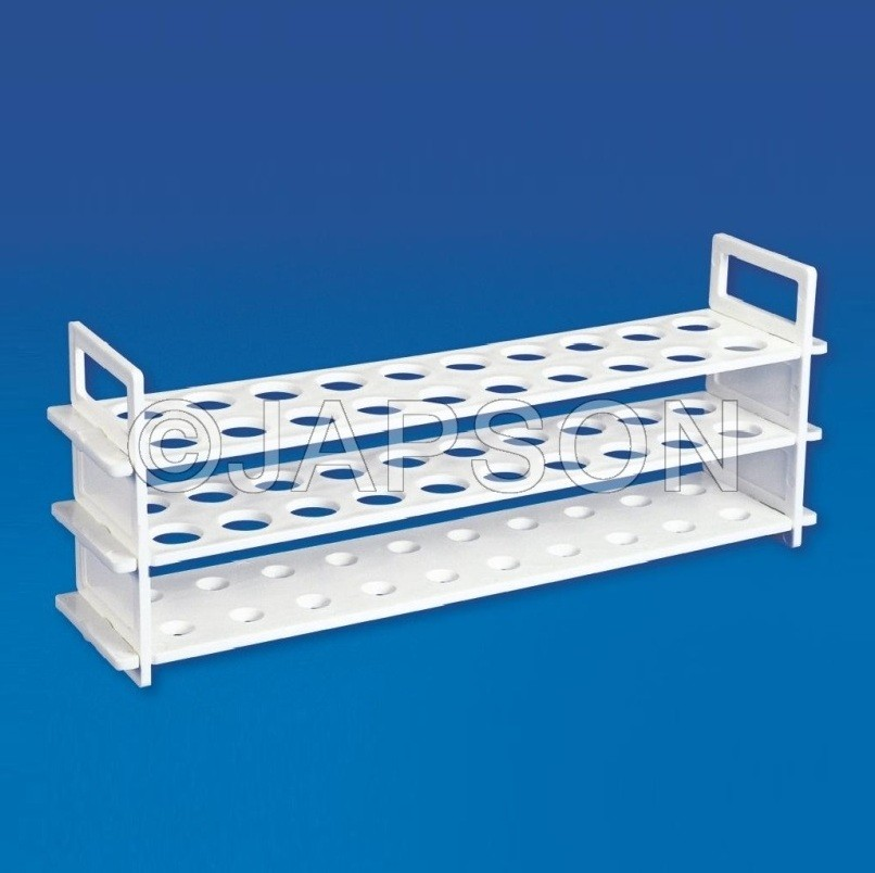 Test Tube Stand (Three Tier), Polypropylene