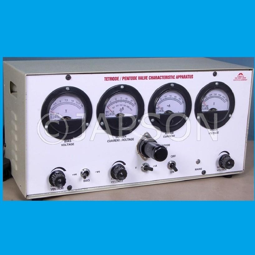 Tetrode & Pentode Valve Characteristics Apparatus