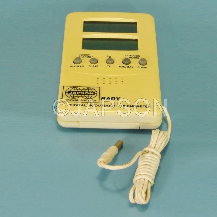Thermometer, Digital, Indoor-Outdoor