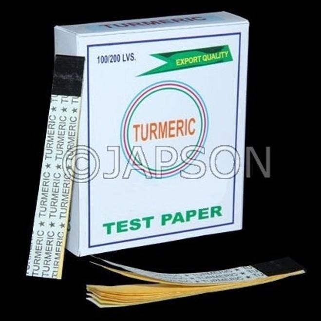 Turmeric Paper