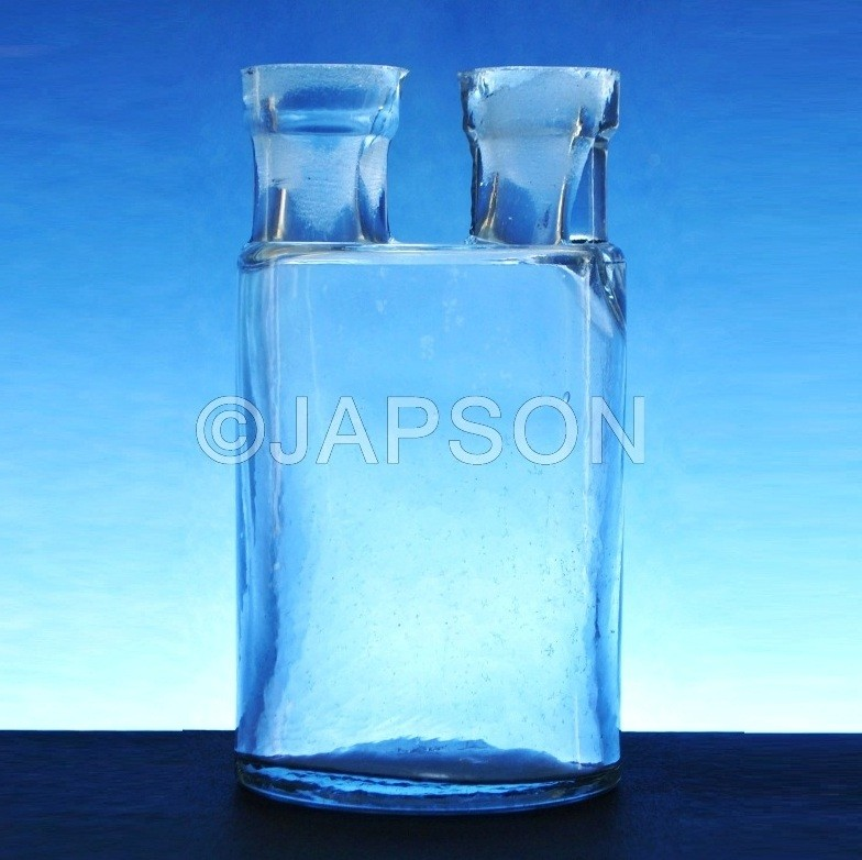 Woulf Bottle (Clear Glass)