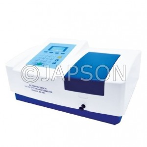 Single Beam UV-VIS Spectrophotometer (With Professional Scanning Software)