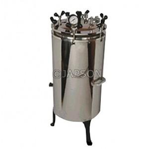 Autoclave, Vertical, Stainless Steel, Nut Locking (Sterilizer Pressure Type)
