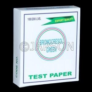 Bromocresol Green Paper