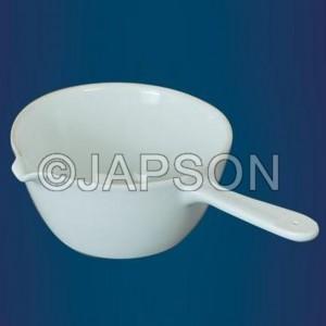 Casserole, Porcelain