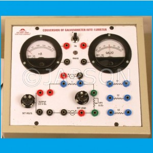 Conversion of Galvanometer into a Ammeter