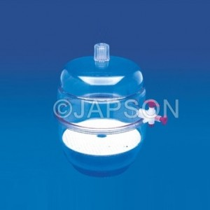 Desiccator (Vaccum )-All Clear, Plastic
