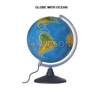 Globe with Ocean