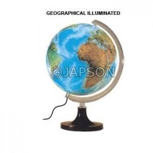 Globes, Illuminated
