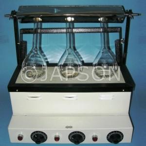 Kjeldahl Digestion Unit, Gas Heated