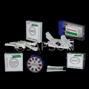 Lead Acetate Paper - Packs, Roll & Strips
