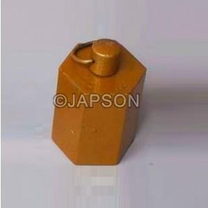 Masses (Weights), Hexagonal, Brass