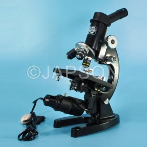 Medical Microscope for Secondary School with Inclined Tube
