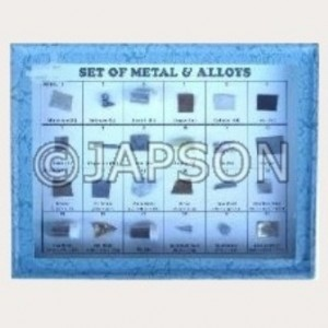 Metals & Alloys Set, Collection of 24 Metals & Alloys