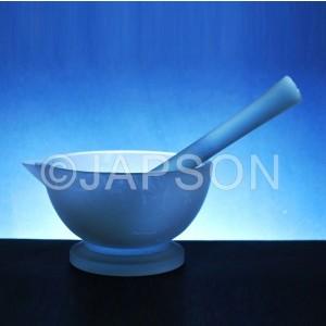 Mortar & Pestle, Clear Glass