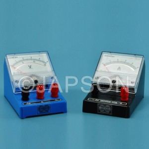 Moving Coil Meter, Rectangular Dial, Front Terminal (Ammeters, Milli-Ammeters, Micro-Ammeters, Voltmeters and Galvanometer)